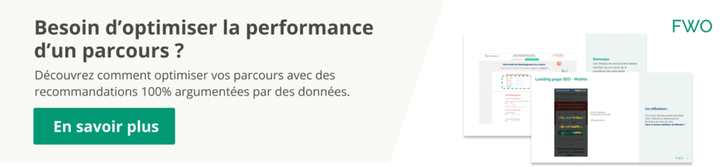 Audit optimisation de la conversion pour site ecommerce et test A/B.